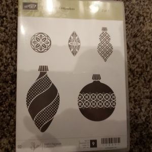 STAMPIN UP! CHRISTMAS ORNAMENT! 2 OF 2